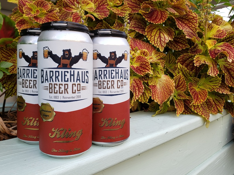BarrieHaus beer cans