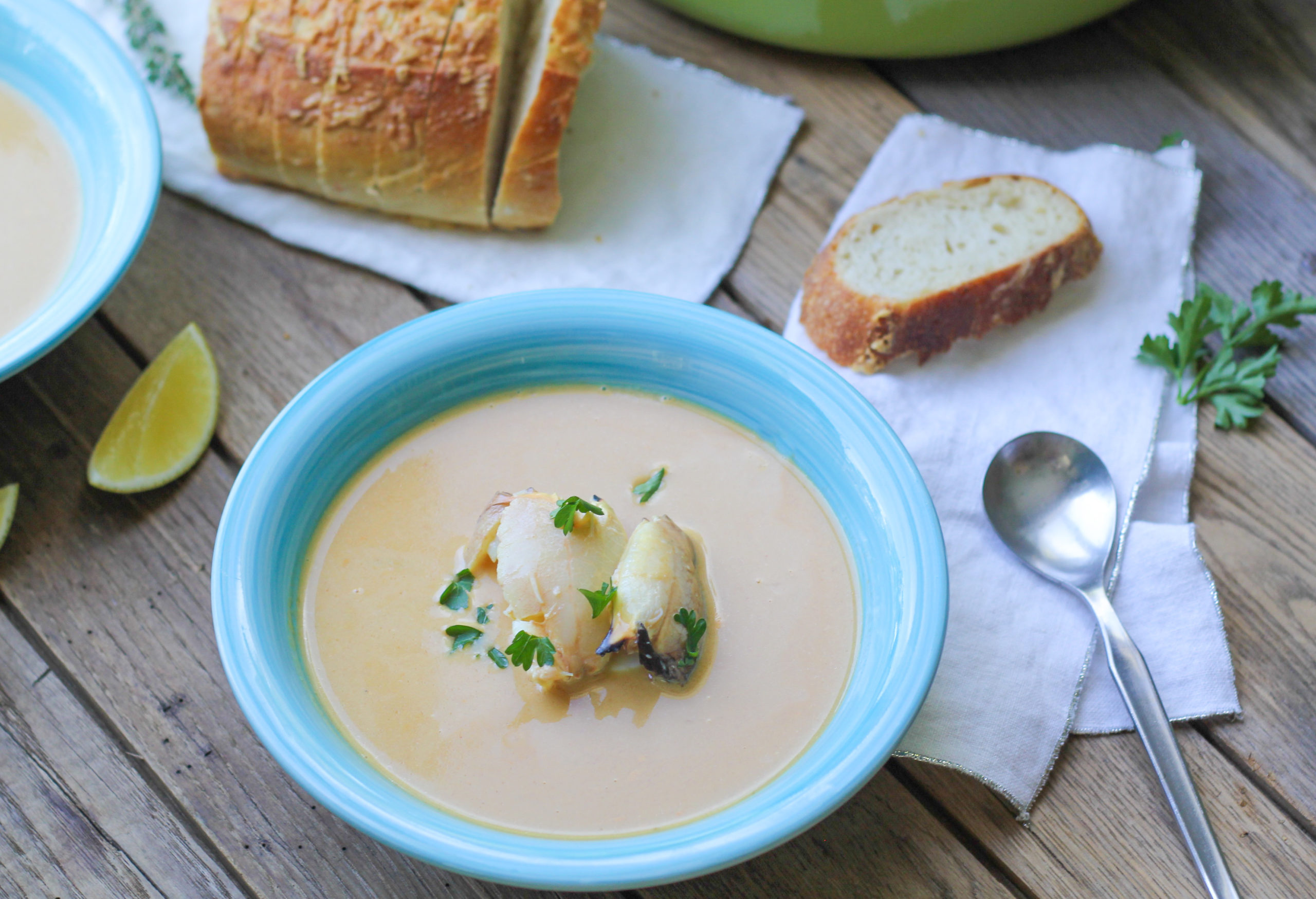 stone crab bisque